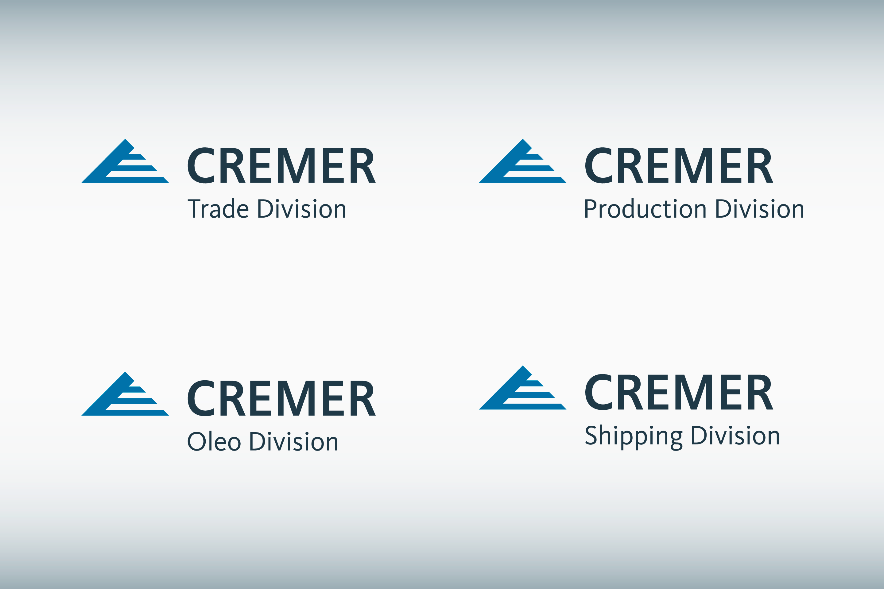 Corporate Identity / Markenarchitektur: Cremer