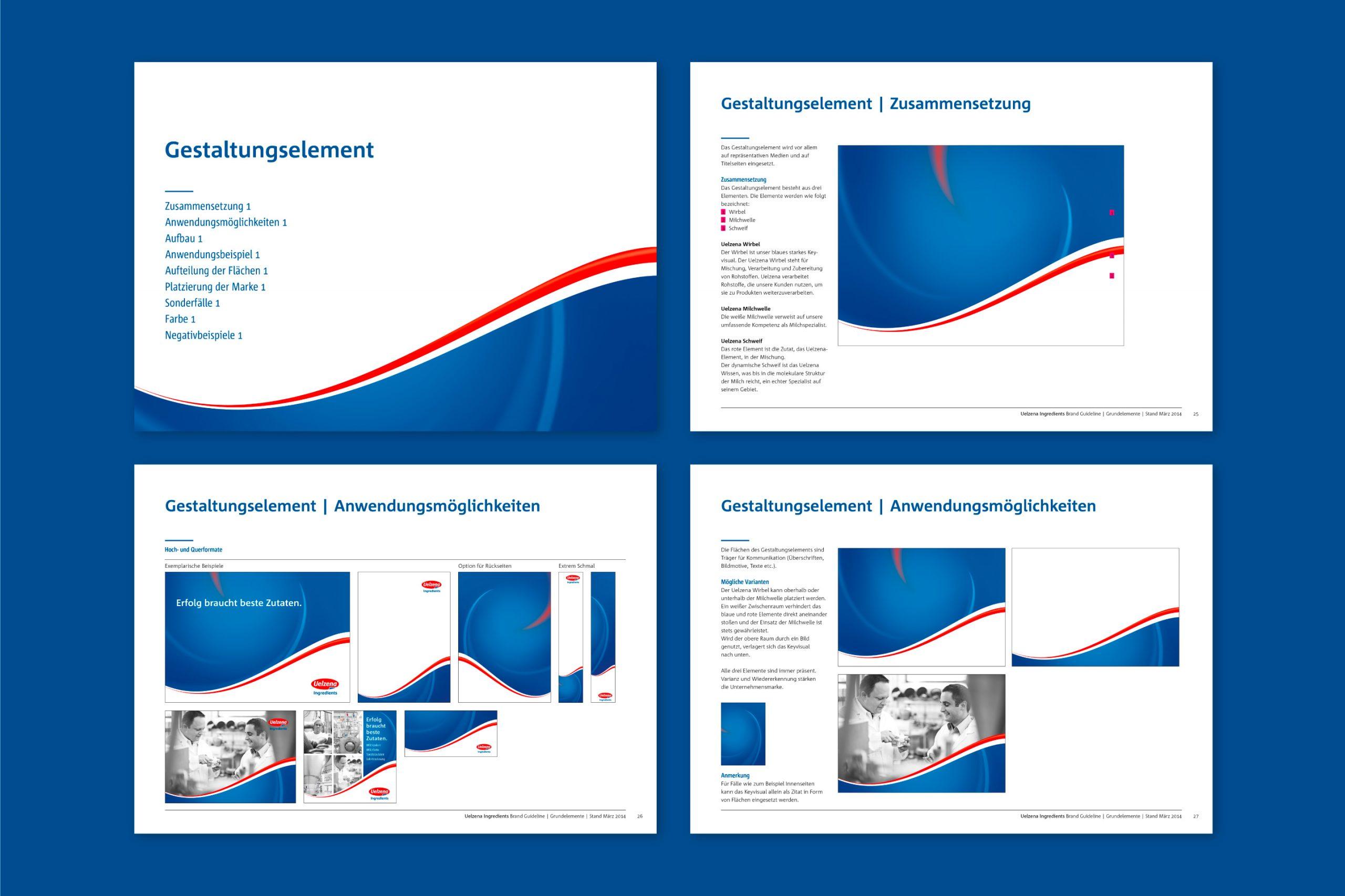 Corporate Design / Design Manual: Uelzena Ingredients