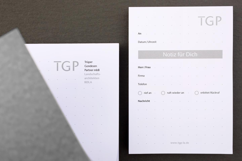 TGP Landschaftsarchitekten / Printmedium